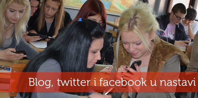 Blog, twitter i facebook u nastavi
