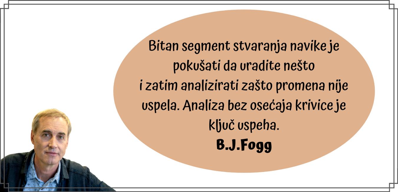 B.J Fogg citat